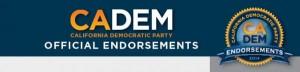 CADEM Endorsment Logo